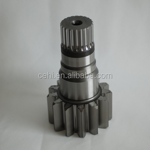 CNC auto spare parts Machining service customized gear shaft for truck