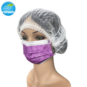Non woven disposable scented cartoon face mask earloop face mask