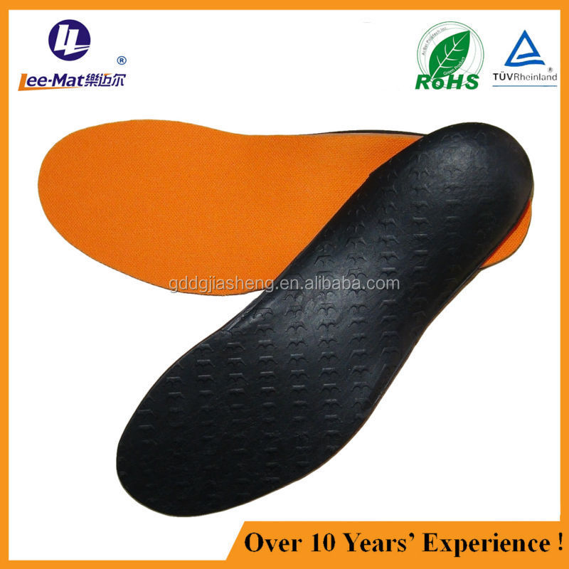 orthotic shoes insole with low middle high arch support