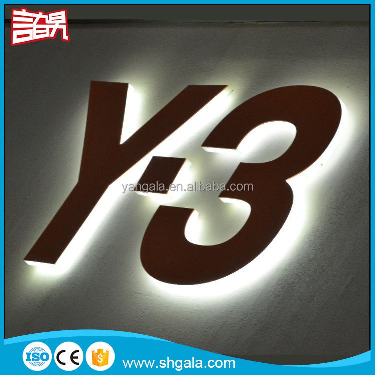 Special Company Logo led alphabet letter sign