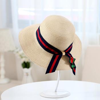 Mauncaturer Customized Wide Brim Straw Sun Hats Promotional Summer Beach  Straw Hats 4d10e56f549