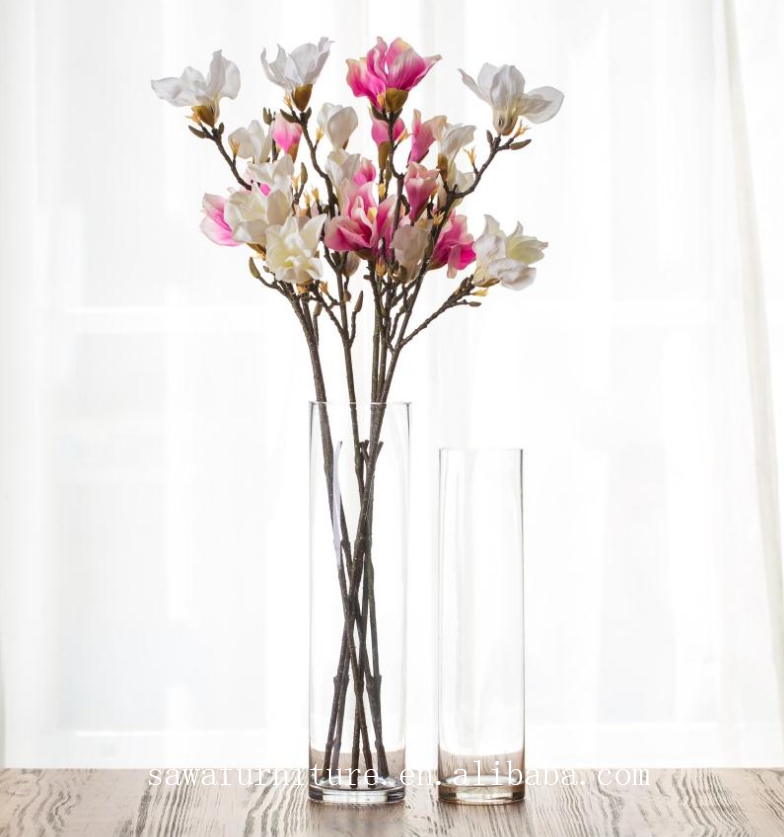 Modern metal vase flower stand wedding table set up for wedding