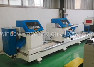Hydraulic aluminum profile corner crimping machine for windows doors