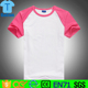 100% cotton kids blank raglan t shirt wholesale