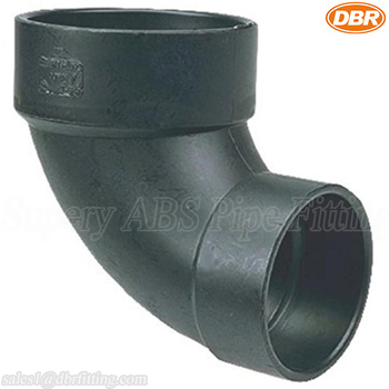 ABS Elbow Fitting 4*3 Inch Closet Bend Plumbing Parts Names With Good Sales