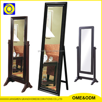 Cheap Wholesale Personalized Furniture Full Body Mirror With Stand