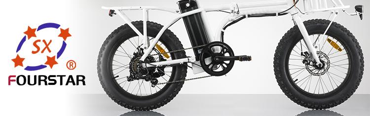 20 Inch Hot selling folding  fat tire electric bike