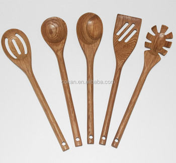 Bamboo Utensil Set,Wooden Cooking Spoons And Spatulas,Antimicrobial Kitchen  Tools,Perfect For