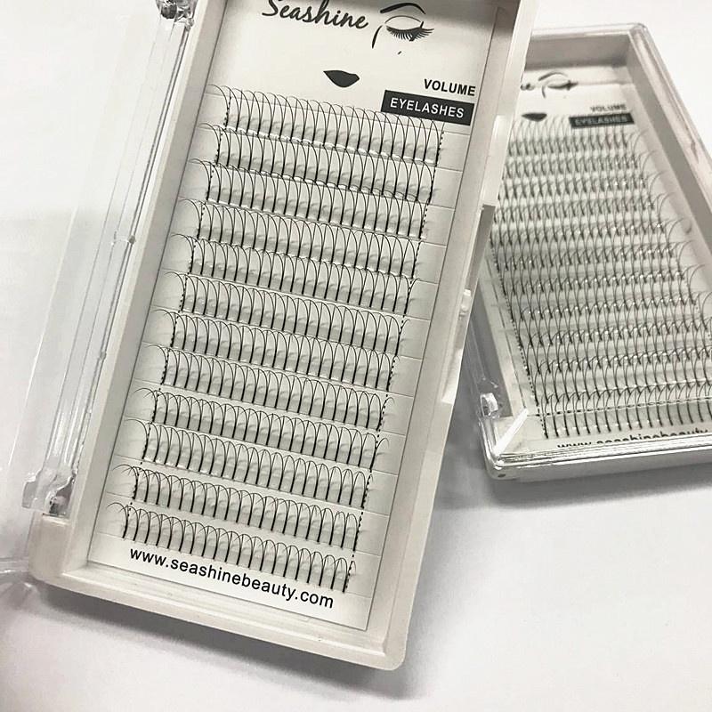 957141c3ac8 9) Seashine Eyelash Extensions Premade Fans Long Stem Heat Bonded Volume  Lashes 2D 3D 4D 5D 6D 7D 10D