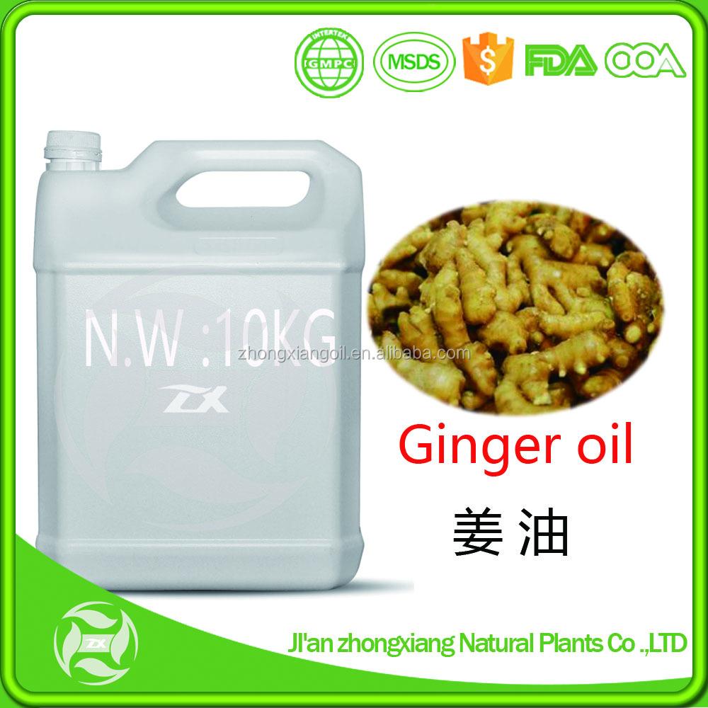 Лучшая цена 100% женьшеневый эфирное масло/масло имбиря