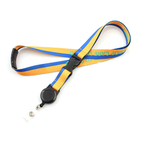 Yoyo custom name brand lanyard