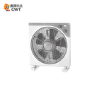 12 Inch Plastic Cooling Box Fan 3 Speeds 2 Hour Timer Home Gray/White ventilador CE