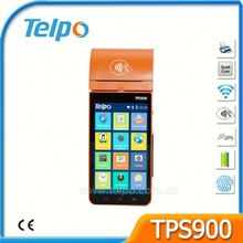 Telpo New Era Android 6.0 OS Android POS Terminal with Printer For Coffee Shop TPS900b