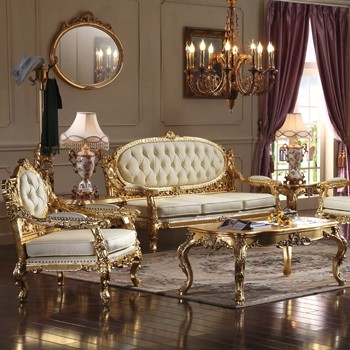 Classic European Royal Style Living Room Furniture Luxury