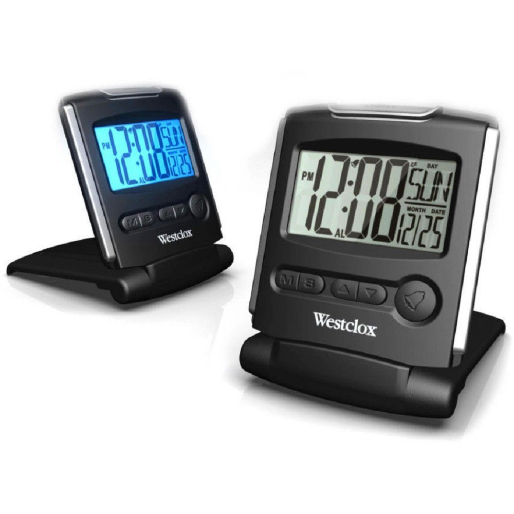 Get Quotations Slim Fold Up Digital Travel Alarm Clock With Snooze New Portable