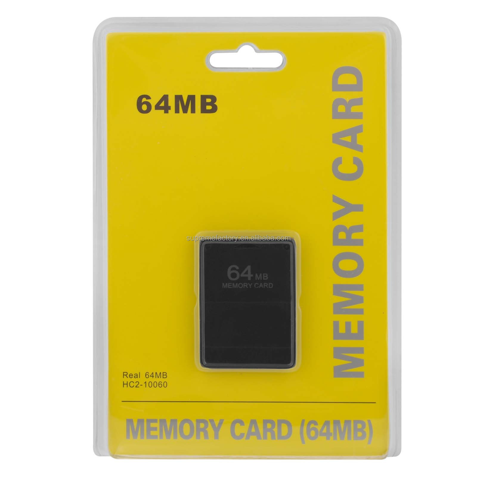 For PS2 64MB Memory Card