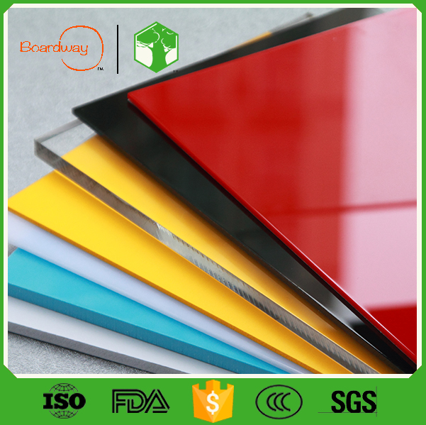Guangzhou factory colorful decorative pmma 1mm thick acrylic sheet for letters,light box,furniture and decorations