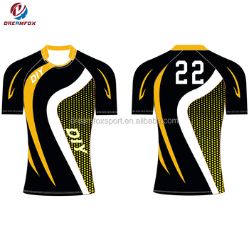 100 Polyester Custom Rugby Jersey New