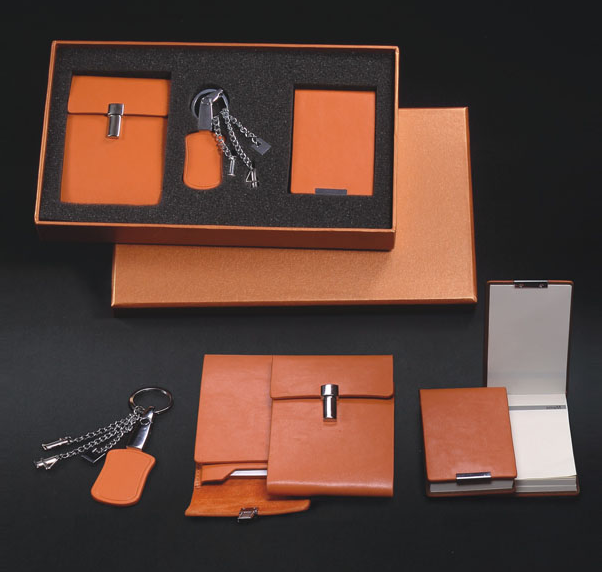 Leather luxury Premium VIP Corporate Business Gift