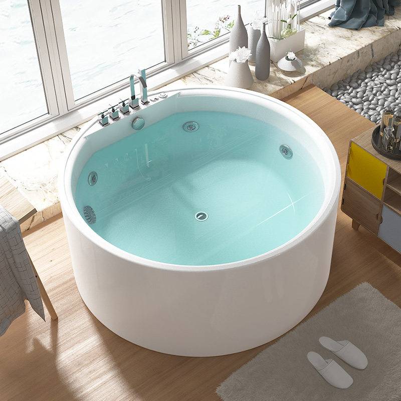 New Design Small Japanese Low Price Mosaic Jetted Hot Tub - Buy High ...