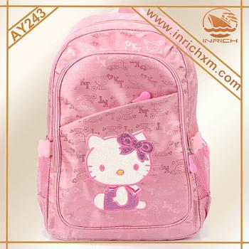 8a22cd06132d 2016 Cute Hello Kitty School Backpack