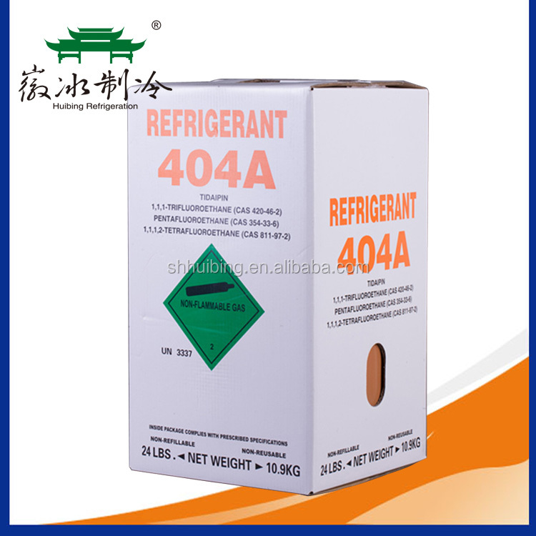 10.9kg Cylinder Packed 99.9% Purity Refrigerant Gas r404a