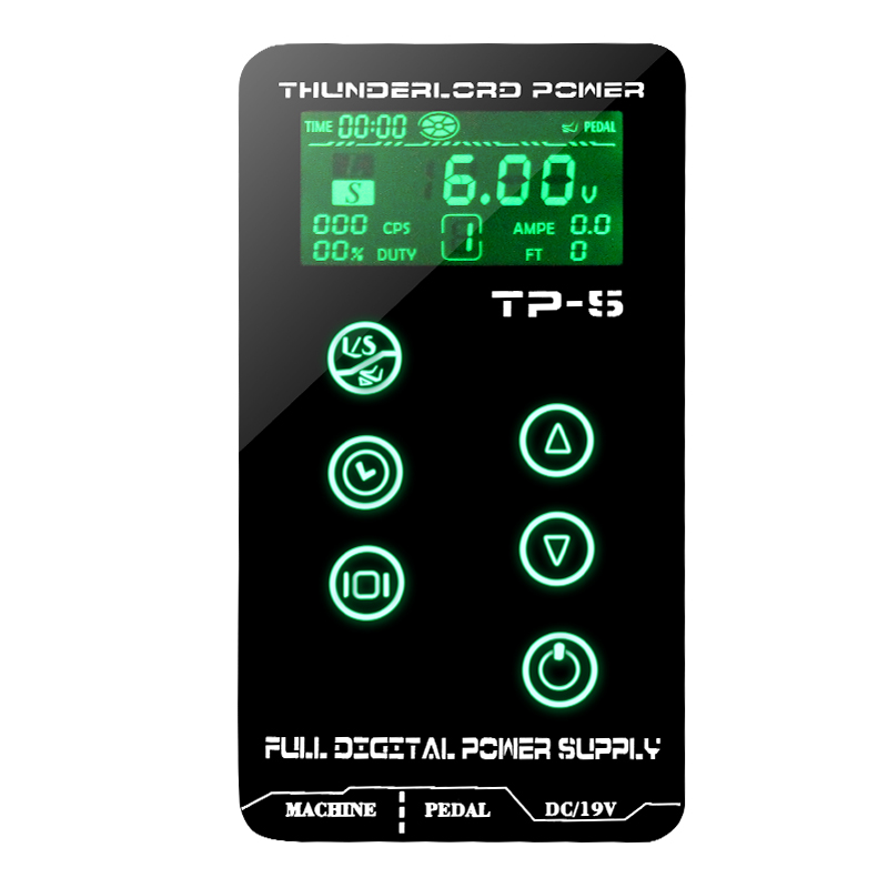 Yilong Digital Tattoo Power Supply TP-5 Professional Power supply