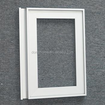 Thick Aluminum Door Frame Kitchen Cabinet Glass Door Frame For
