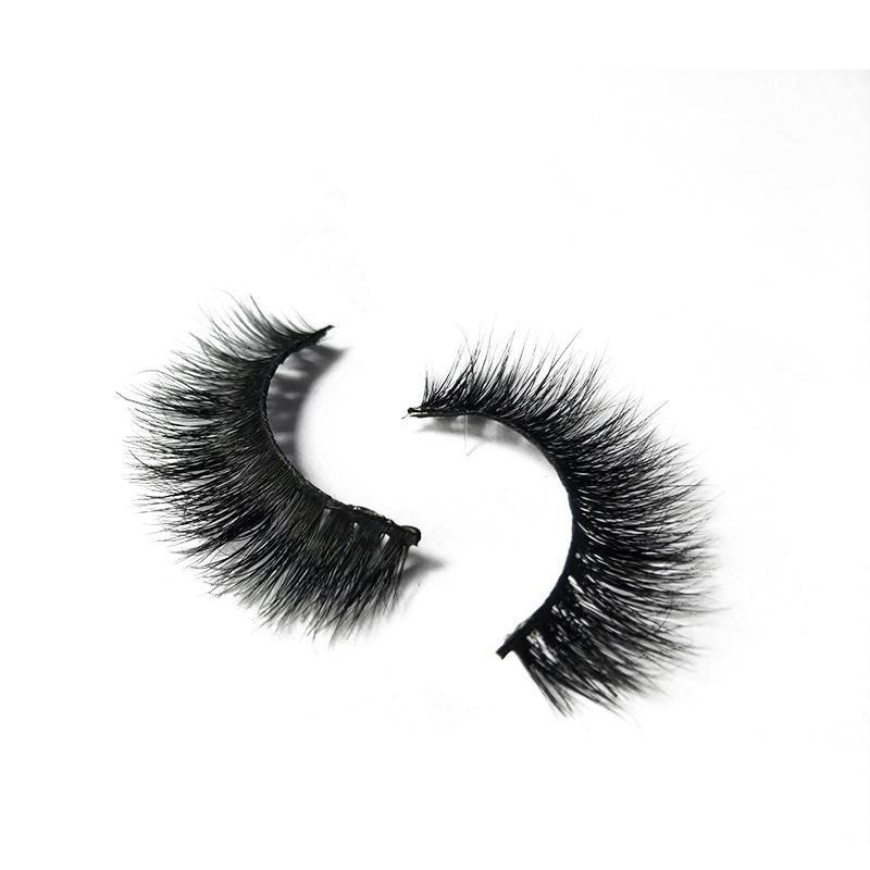 High Quality Wholesale Mink Fur Eyelash A Whole Set Of Sample 3D Mink Eyelashes, Natural black