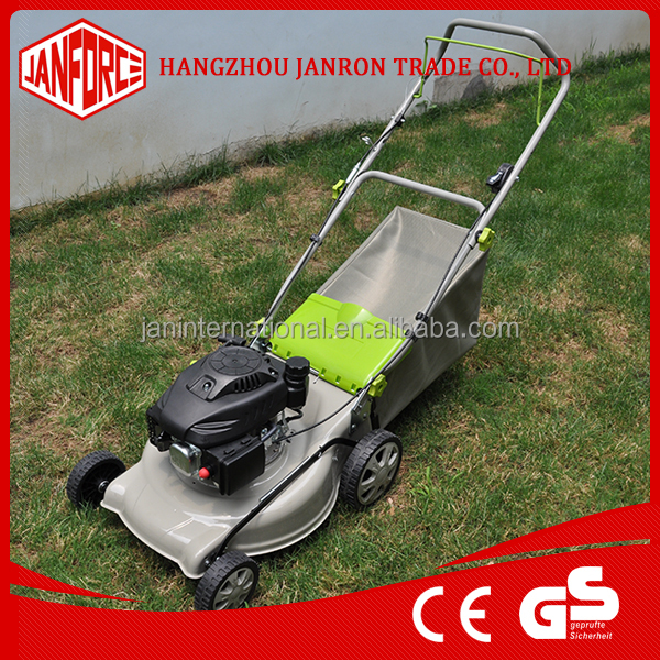Garden Tools 139cc 18 steel lawnmower with low noise for best selling