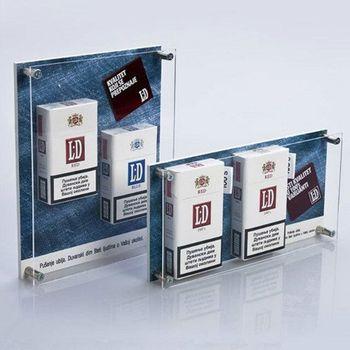 Acrylic E-cigarette Display Cigarette Box