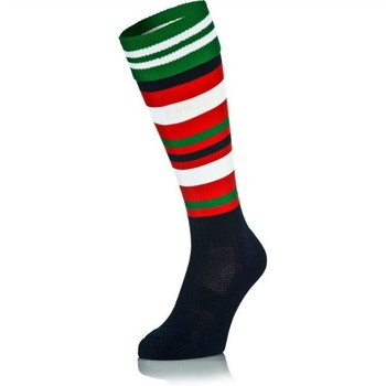 e53bda8d63a Custom School Kids Knee High Football Socks Kids Football Socks ...