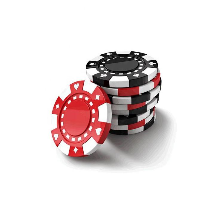 Commercio all'ingrosso Impermeabile stampa personalizzata argilla poker chip set
