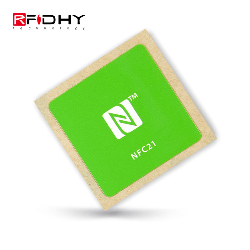 Bright Small Ndef Ntag213 13.56mhz Rfid Smart Card Nfc Tags Programmable Nfc Chip Layer Label Sticker Compatible With All Nfc Phone Goods Of Every Description Are Available Security & Protection