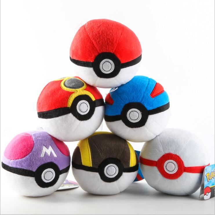 2016 Free shipping Pokemon Elf Ball cute Elf Ball plush toy doll Movies TV