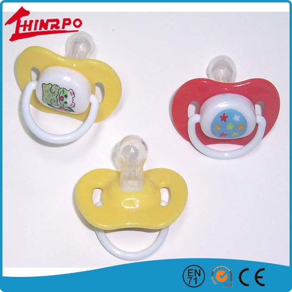 promotional baby pacifier teething pacifier clip silicone baby pacifier