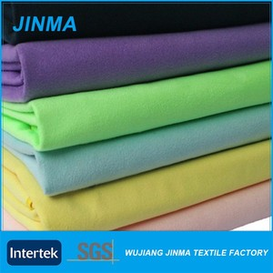 Promotional various using microfiber polyester spandex fabric