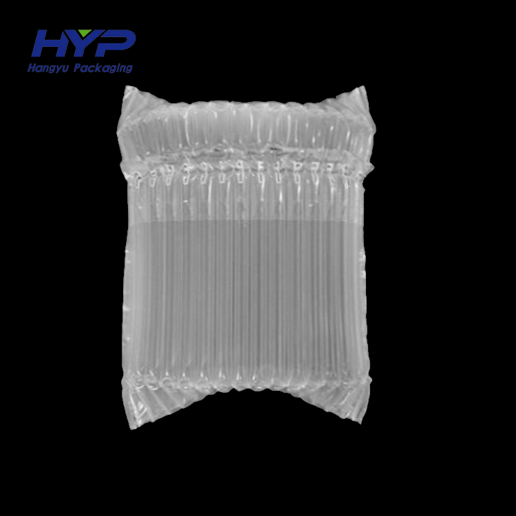 wholesale customized plastic inflation bubble air column cushion pack bag for wine bottle beer cans protection