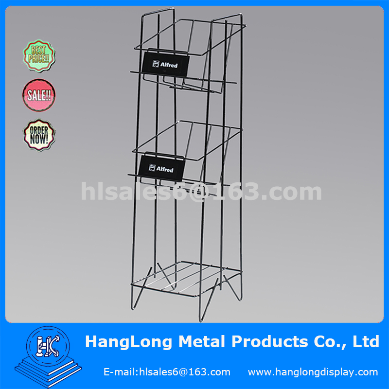Retail Store Greeting Card /Book /Display/Magazine Display Stand Rack