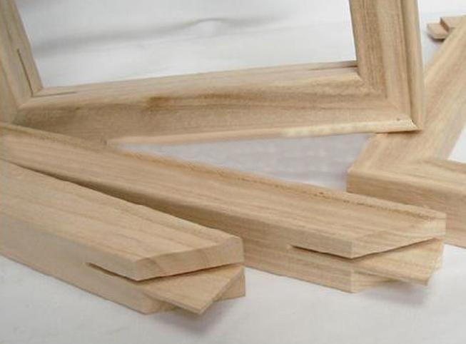 Barato bastidor de madera marco de madera-Marco-Identificación del ...