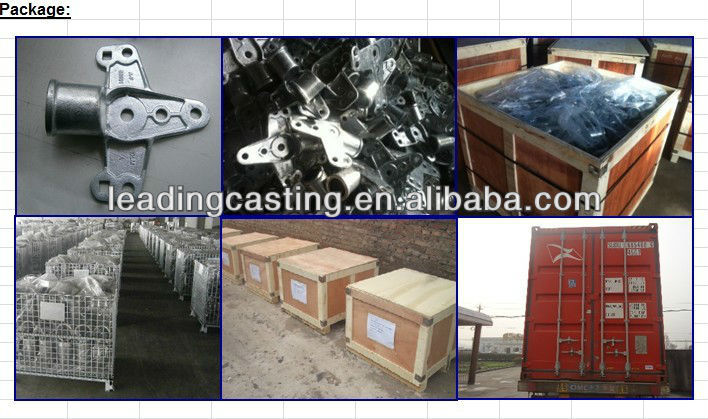 Precision die casting agro machinery truck accessories fittings custom services