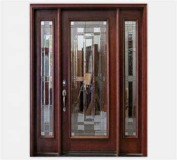 Luxury Western Style Entry Doors Side Panels Lightweight Door Panel Therrm Product On Alibaba