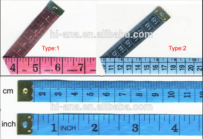hi-ana tailor2 Hot products custom design Finest Quality waist tape measure