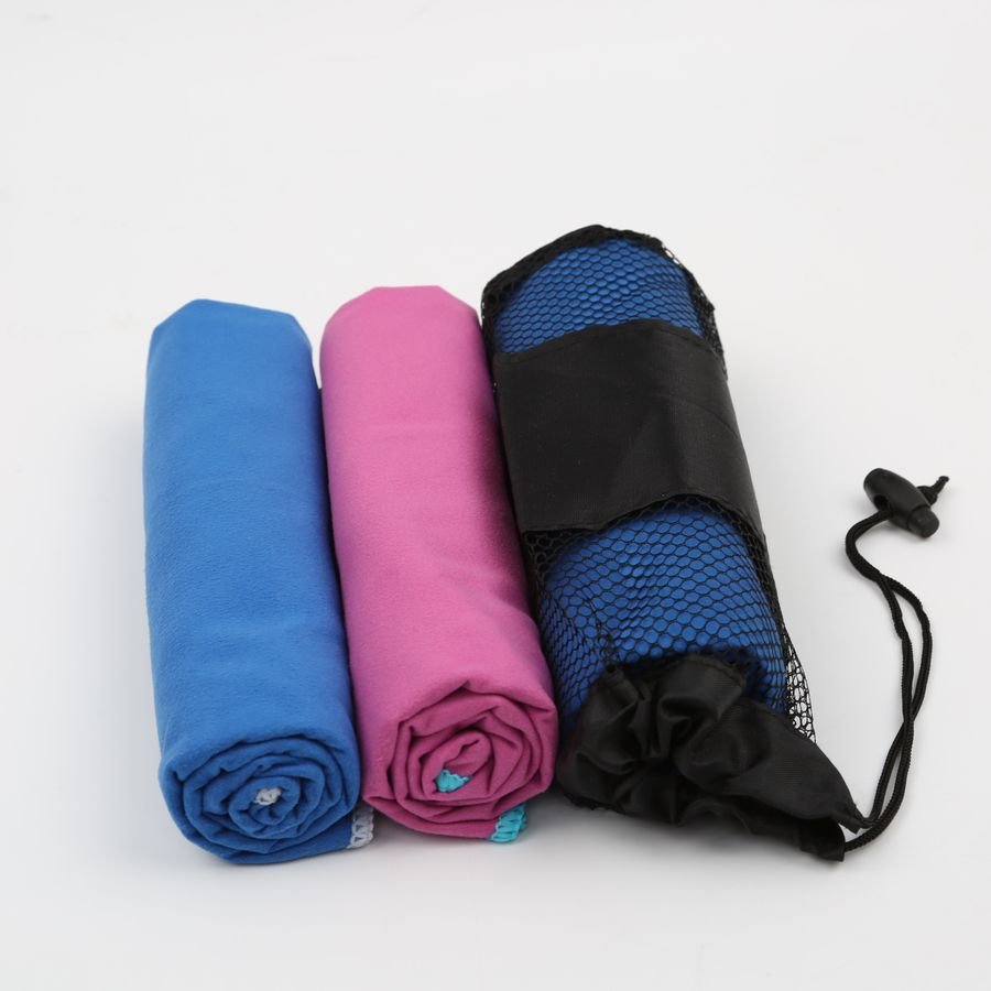 Fabric Manufacturers Zipper With Zip Pocket Microfiber Sport Gym Towels