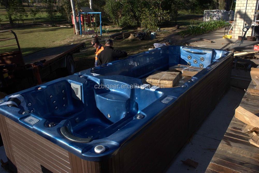 outdoor jakuzzy whirlpool swim spa pool au en balboa massage warmbadebecken whirlpool jakuzzy. Black Bedroom Furniture Sets. Home Design Ideas