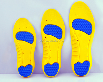 sports shoe soft foam polyurethane insole