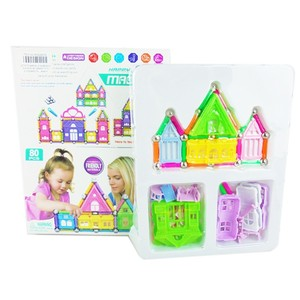 New toys plastic magnetic building blocks