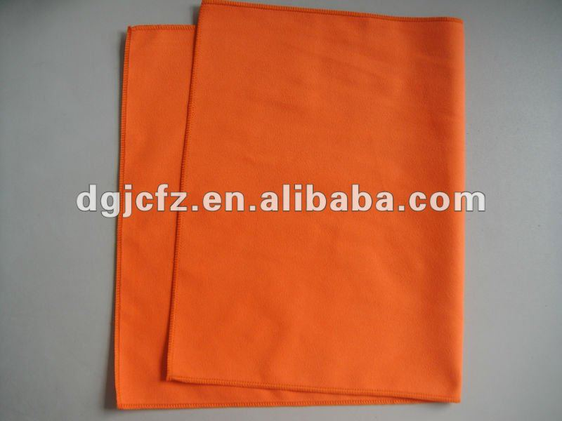 promotional scratch resistant custom print microfiber fabric silver and gold polishing cloth