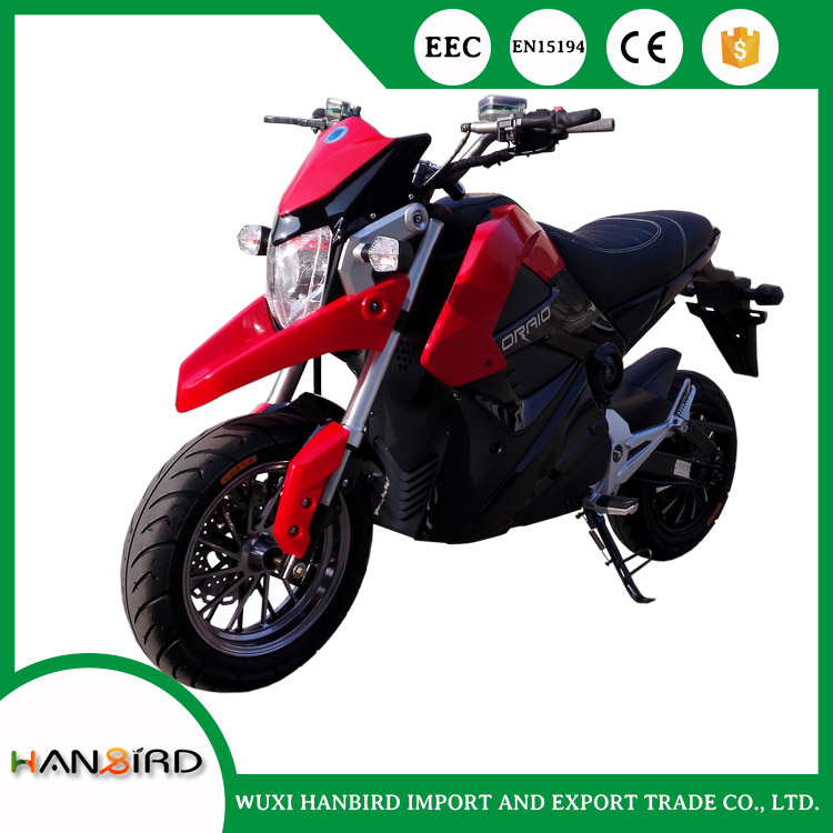 High Quality 72V 5000w Electric Motorcycle