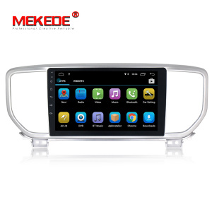 "Mekede 1+16GB Android8.1 Quad Core 9"" Car Radio Stereo with GPS for KIA sportage KX5 2018 2019 Car Audio System GPS Navigation"